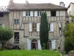 Figeac, historical center, superb mansion