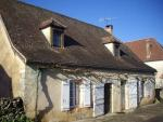 Near Rocamadour, renovated house of 120m² from the 18th with courtyard